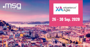 msg life Sponsorships: Expericence Agile 2020